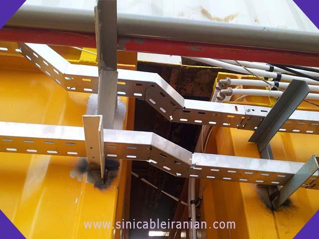 انعطاف پذیری سینی کابل برای مرتب کردن کابل کشی