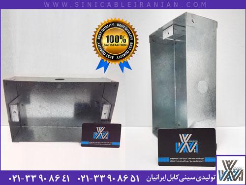 تولید انواع جعبه تقسیم گالوانیزه برق در ابعاد دلخواه